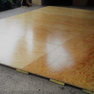 Dance Floor Blonde Ply 3.6 x 4.8m