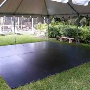 Dance Flooring Black Ply