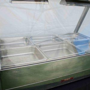 Hot Food Bar 6 tray wet