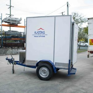 Mobile Cold-Room – trailer (1.8 x 1.8 x 1.2m)