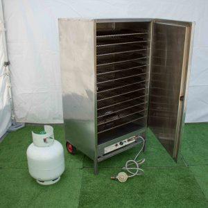 Warming Oven 12 shelf Heatlie Gas