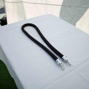 Stanchion Rope – Black 1.5m