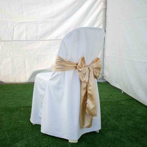 Chair cover & sash