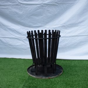 Brazier with tray
