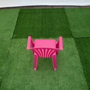 Children's Chair Pink with arms