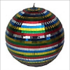 Mirror Ball coloured 30cm