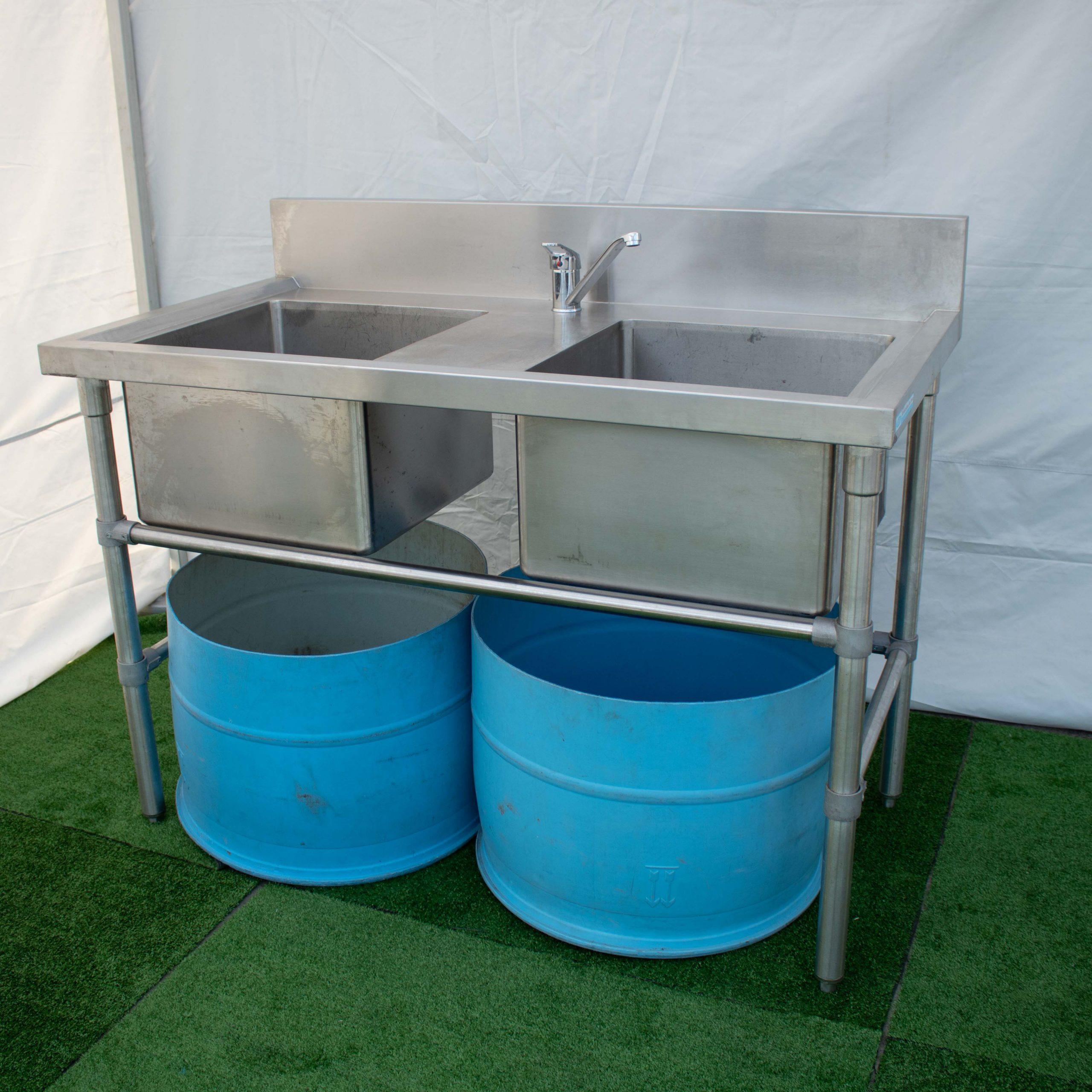 Portable Double Sink_