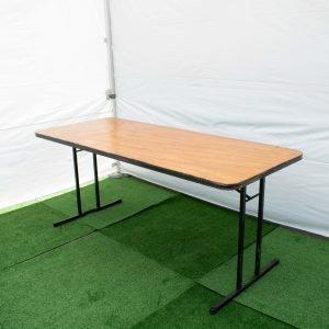 Rectangular table 2.4 x .75m