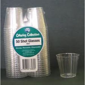 Shot Plastic 30ml (50)