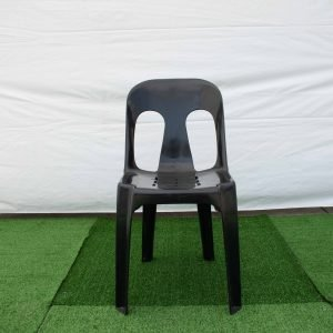 Stacking Chair Black