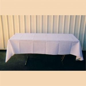 Tablecloth White 2.3m x 1.35m