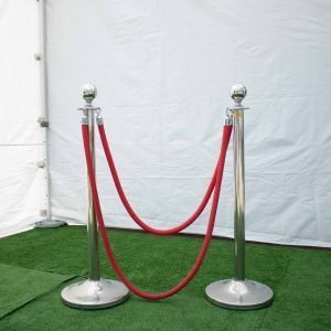 Stanchion – chrome Knob style