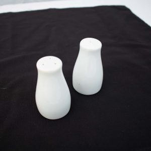 White China- Salt & Pepper