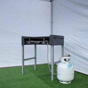 BBQ – 2 burner (0.8m x 0.48m)
