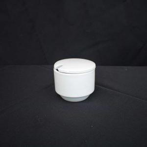 White China- Sugar Bowl