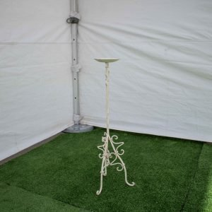 Candelabra-Wrought Iron- Table Single Candle