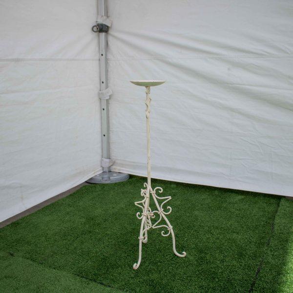 Candelabra-Wrought Iron-Single Candle