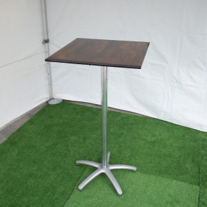 Dry Bar Table Square Timber Top