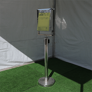 Poster/Brochure Holder on stand A4